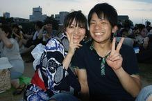 大阪のカップル