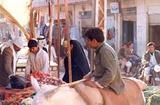 バグダッドの市場