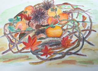 秋の盛り籠