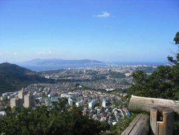 栂尾山展望台