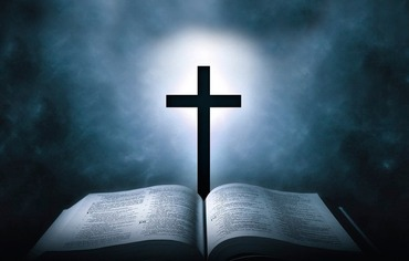 十字架と聖書と癒やし