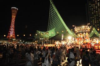 神戸港盆踊り2012