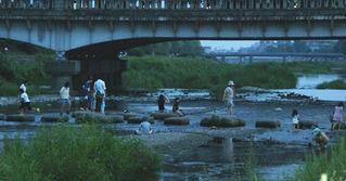 出町柳の河原
