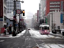 雪.の路面電車