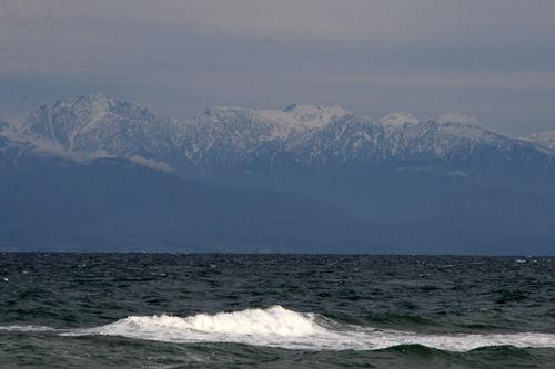 立山の眺望 氷見より