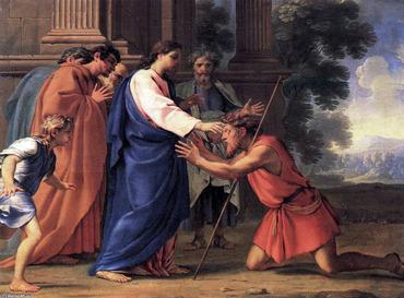 キリスト 盲人の癒やし