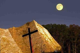 1十字架の竹田城