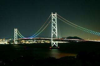 明石大橋夜景11のコピー