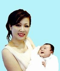 富士子&赤ちゃん