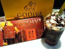 GODIVAのチョコレート