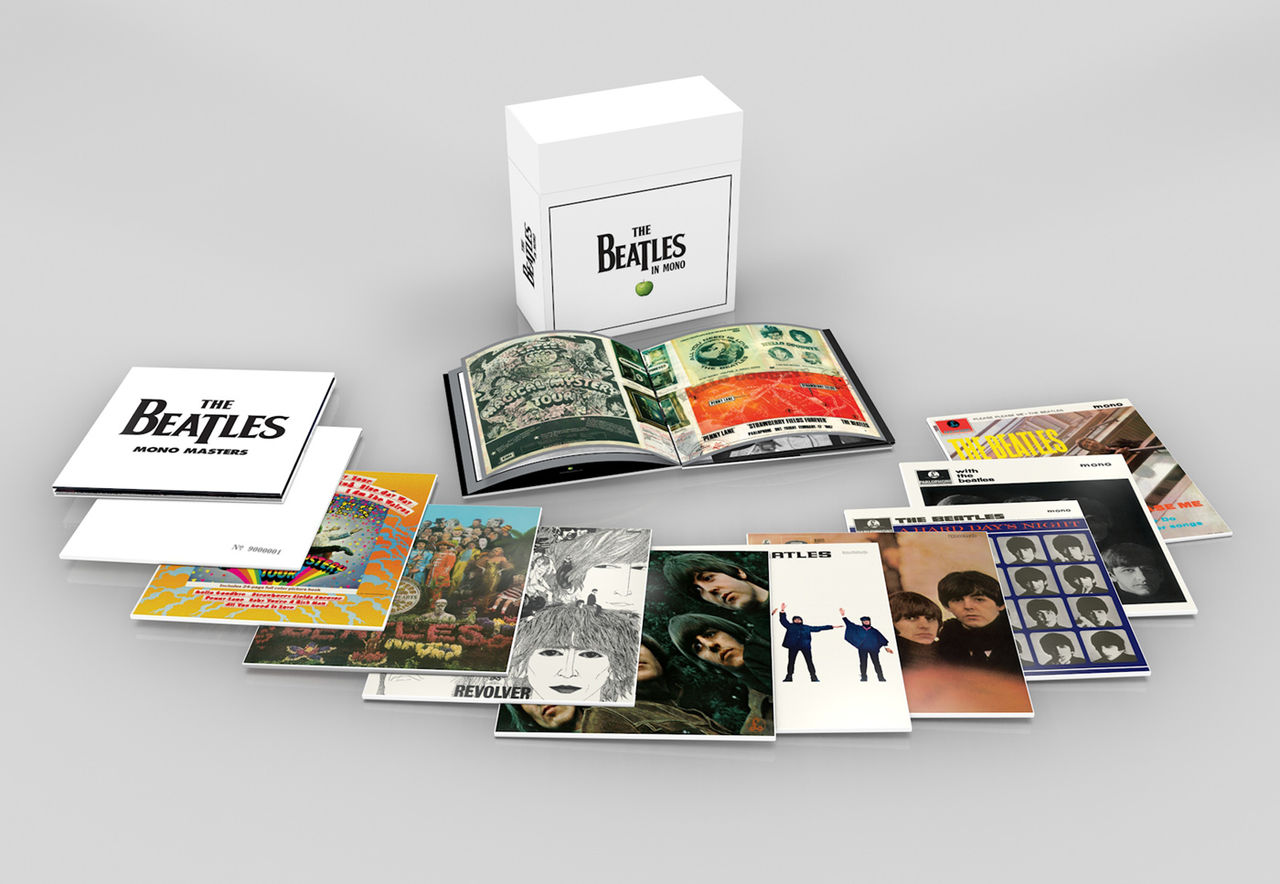 BEATLES MONO LP BOX