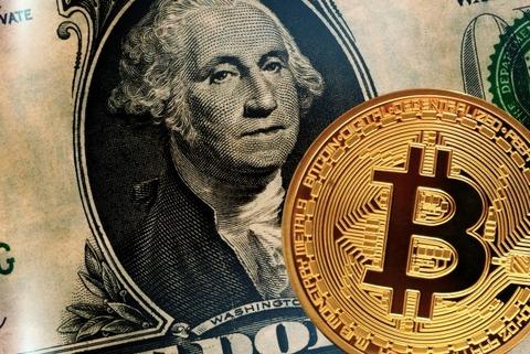 米ドルとビットコイン