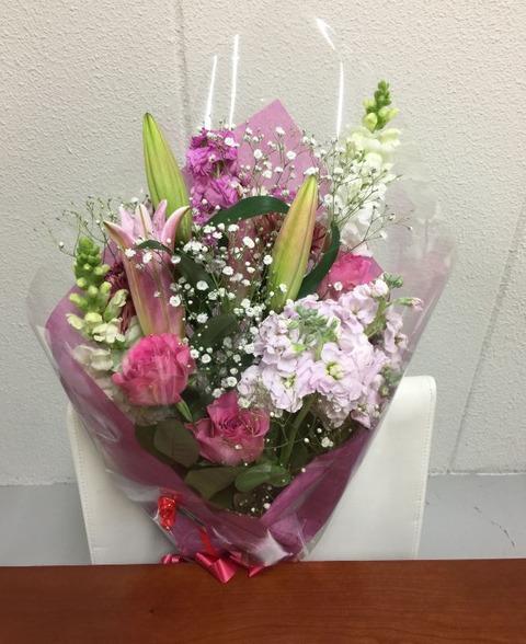 180402_お誕生会のお花