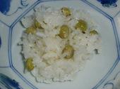 炊き立ての豆ご飯