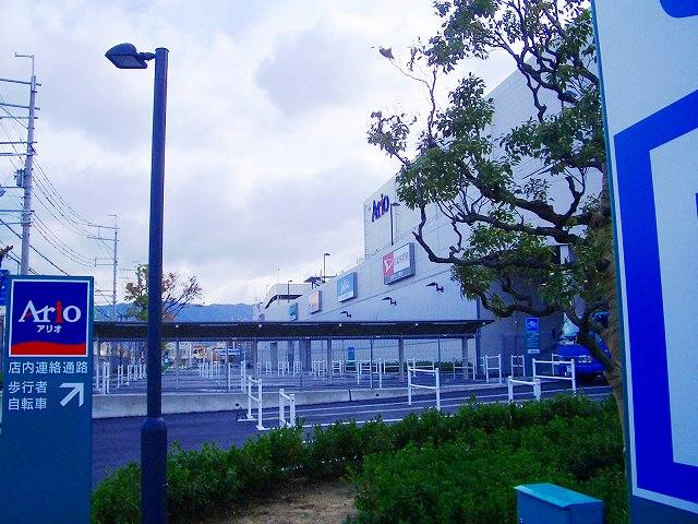 北側の駐輪場