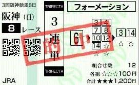 0623阪神8三連単