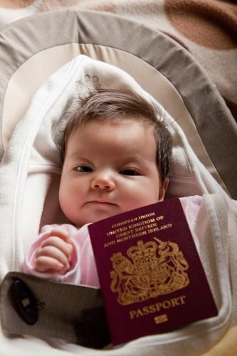 パスポート届きました。