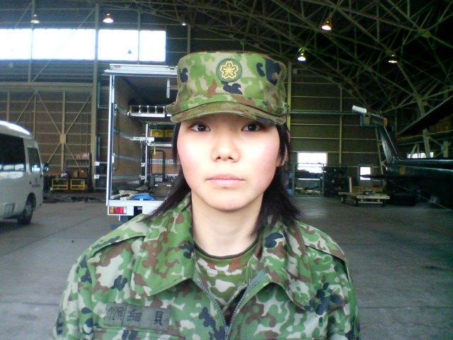 画像 : 国防女子【自衛隊 女性自衛官】100名 - NAVER まとめ