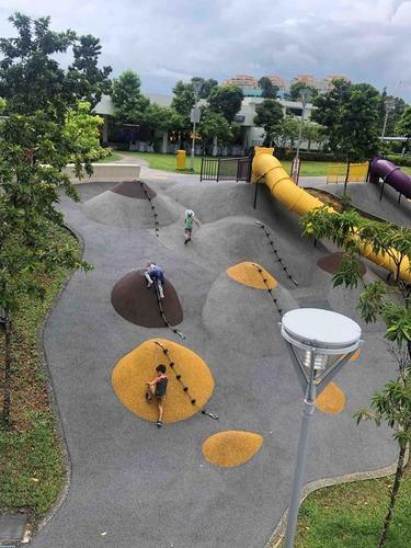 シンガポールでおすすめの子供の遊び場【無料】- Toa Payoh Crest - : みどのBLOG - シンガポール子連れ情報 & グルメ