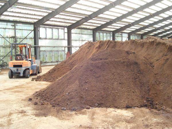 堆肥完成品
