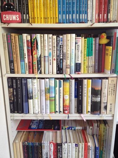 整理された本棚ちゃん