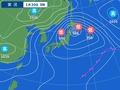 1月30日の天気図