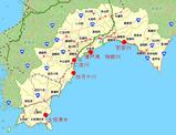 高知県内の主要採捕地