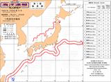 1月28日の海流図