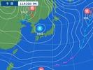 30日9時の予想天気図