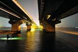 徳島県吉野川での漁模様
