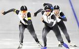 スピードスケート女子団体追い抜きで準決勝に進出した日本