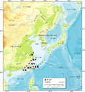 東アジアのシラスウナギ採捕海域