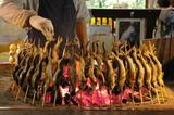 今でもアユの串焼きを出すお店が多い静岡県です