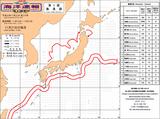 昨年11月の海流図