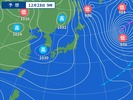 12月28日午前9時の予想天気図