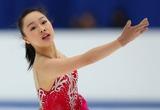 全日本女子SPで3位につけた樋口選手