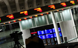 兜町の東京証券市場