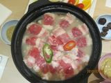 牛肉の煮込み鍋