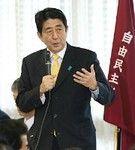 選挙戦で早くも公約を掲げた自民党・安倍総裁