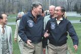 米レーガン大統領とロン・ヤスの仲
