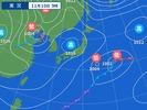 11月10日午前9時の天気図