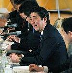 日米首脳会談前の安倍総理