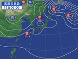12日の天気図