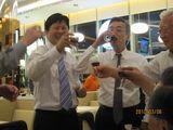 やっぱり中国では乾杯をやらないと!