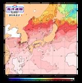 海水温分布図
