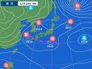 12月26日午前9時の天気図