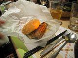 蒲焼ハンバーガーの外観