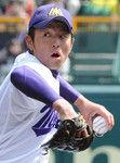 宮崎西相手に14奪三振完封の濱田投手