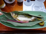 鮎の蓼味噌焼き