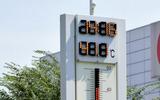 岐阜県多治見市で40.7℃を記憶した